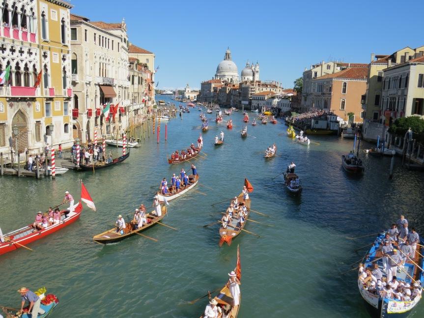 Wenecja, Historyczne regaty, Blog Caffe